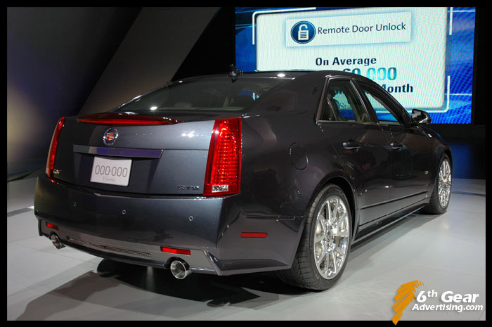 2008 Cadillac Provoq Concept. Cadillac Provoq Concept